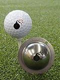 Tin Cup Golf Ball Marking System Bombs Away