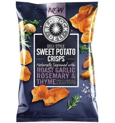 Red Sweet Potatoes (Red Rock Sweet Potato Garlic & Rosemary 135g)