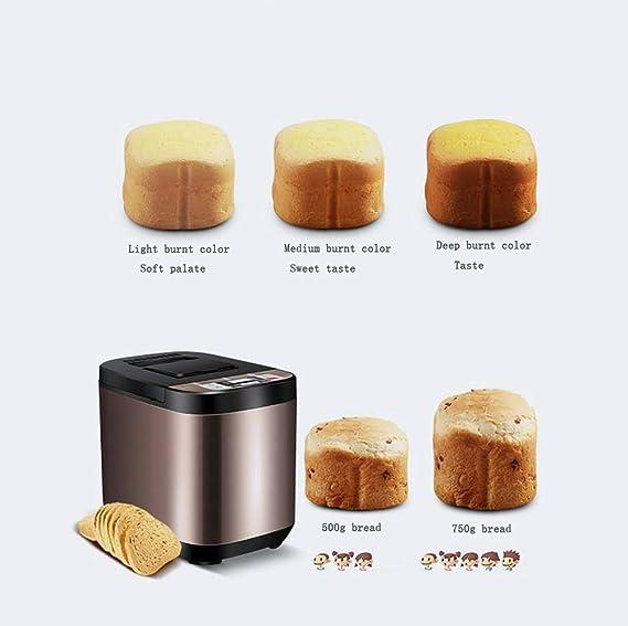 Máquina para hacer pan Automática Hogar Inteligente Multifunción ...
