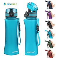 Uzspace 500ml 17oz BPA Free Eco-Friendly Fitness Water Bottle