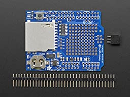 ADAFRUIT INDUSTRIES 1141 DATA LOGGING SHIELD BOARD, ARDUINO