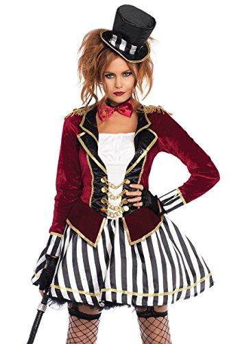 Leg Avenue Womens Night Circus Ringmaster Costume, Multi Medium -