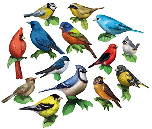 Song Birds 15 Mini Shaped Puzzles 500 Piece Total By Lafayette Puzzle Factory