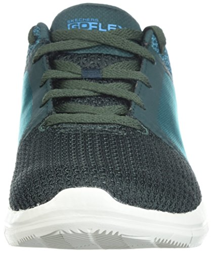 Skechers 14990 Flex 2 Flex Green 2 Go Womens Go 14990 Blue xWB1Uqwx8r