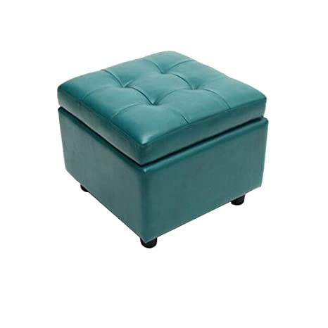 Admirable Amazon Com Lgq Life Faux Leather Storage Ottomans Pouffe Pabps2019 Chair Design Images Pabps2019Com