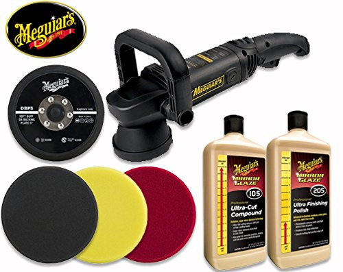 Meguiar's MT300 Dual Action Polisher 5 in Complete Professional Kit