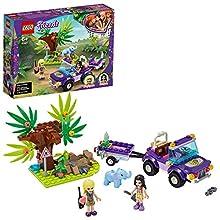 LEGO Pulse Theme Friends Rescate en la Jungla del Bebé Elefante Set de Juego con Stephanie, Serie Campamento de Aventuras, Multicolor (41421)