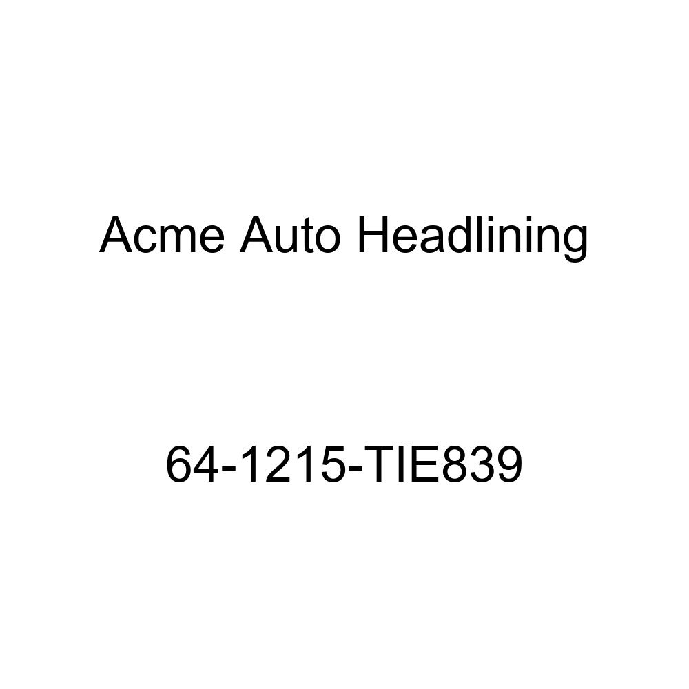 Acme Auto Headlining 64-1215-TIE839 Metallic Blue Replacement Headliner Oldsmobile 98 4 Door Sedan 6 Bows