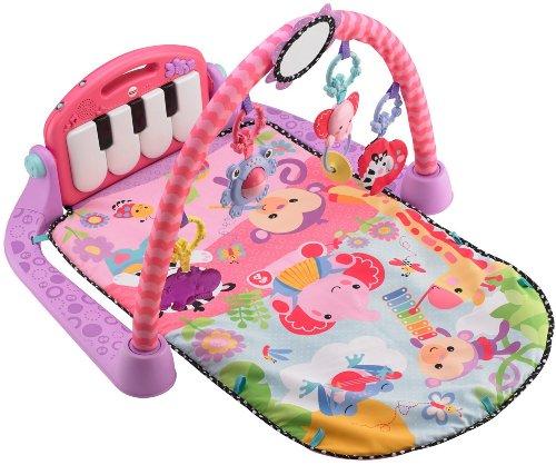 Fisher Price Kick Play Piano Pink