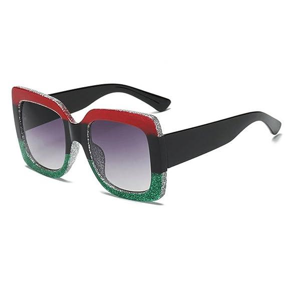 Koly NUEVO Sobredimensionado Cuadrado Lujo Gafas de sol Gradiente Lente Vendimia Gafas de mujer Sunglasses Gafas