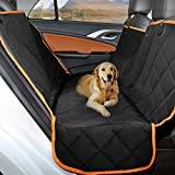 Ymiko Dog Seat Cover Car Seat Cover For Pets, 600D Heavy Duty Waterproof Scratch Proof, Nonslip Backing Hammock Convertible Pet Seat Cover For Cars, Suvs, Trucks