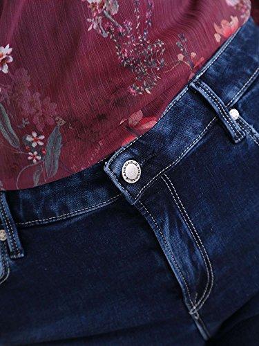 Azul Corto Gas Pantalón Para Mujer wBccI1pqZ