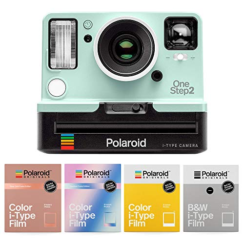 Polaroid Originals OneStep2 Viewfinder i-Type Instant Camera (Mint Edition) with Accessory Bundle