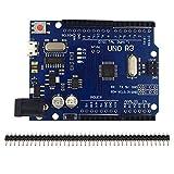arduino micro usb - Bestgle UNO R3 Board for Arduino, Micro USB ATmega328P CH340 Development Board Compatible Arduino Microcontroller with Straight Pin Header