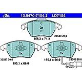 ATE 13047071842 Plaquettes de freins de stationnement ATE en céramique