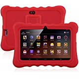 """7"""" Kids Tablet PC, Ainol Q88 Android 4.4 External 3G 8GB ROM 512MB RAM Tablet with Dual Camera WIFI USB Phablet (Red)"""