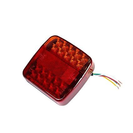 ETUKER Pilotos LED Remolque, 12V Impermeable Universal Piloto ...