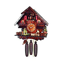 Alexander Taron Decorative Collectibles 474-8MT - Engstler Weight-driven Cuckoo Clock - Full Size - 8 day