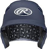 Rawlings Velo Series Alpha Sized Batting Helmet, Matte Navy, Small