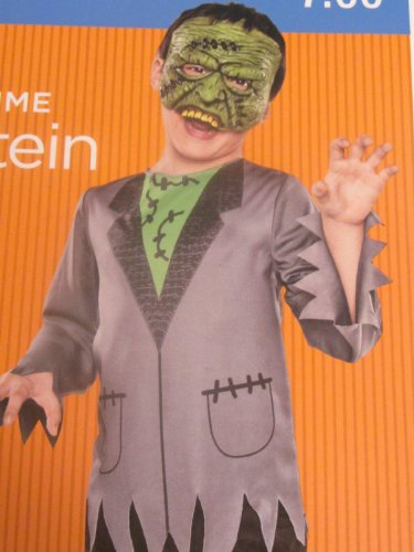 [Child Costume - Frankenstein (LARGE)] (Boys Frankenstein Costumes)