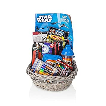 Amazon star wars gift basketset for baby boytoddler 3 10 star wars gift basketset for baby boytoddler 3 10 years negle Gallery