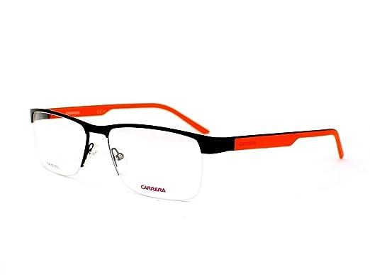 Amazon.com: Carrera 8817 Eyeglass Frames CA8817-0PYZ-5617 - Matte ...