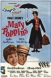 Mary Poppins Movie Poster (11 x 17 Inches - 28cm x 44cm) (1964) Argentine Style A -(Julie Andrews)(Dick Van Dyke)(Ed Wynn)(Hermione Baddeley)(David Tomlinson)(Glynis Johns)