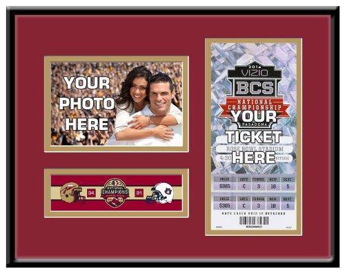 (2013 Football National Champions 4x6 Photo Ticket Frame - Florida State Seminoles)