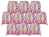 Spa Salon Drawstring Bags Kids Birthday Party Supplies Favor Bags 10 Pack