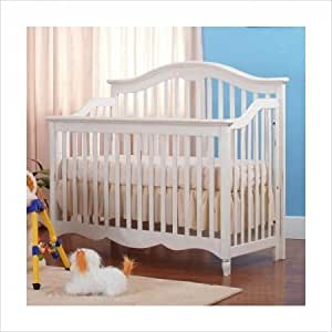 Eden Baby Melody Collection Crib White Baby Furniture Baby