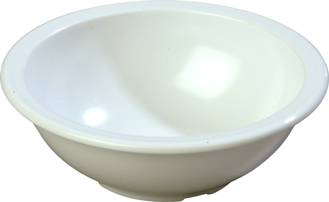 Carlisle KL11502 Kingline Melamine Chowder Bowl, 16 oz., White (Pack of 48)