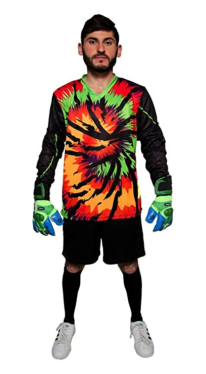af560827f08 Amazon.com   Geko Sports Twister Tie Dye Goalkeeper Jersey   Sports ...
