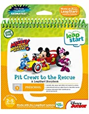 LeapFrog LeapStart 3D Mickey and The Roadster Racers Book