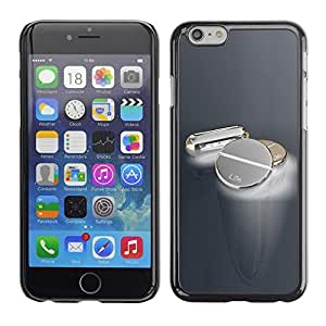Be Good Phone Accessory // Dura Cáscara cubierta Protectora Caso Carcasa Funda de Protección para Apple Iphone 6 // Metal Pills