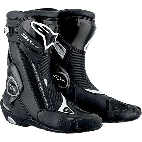 Alpinestars Smx 4 Boot (Alpinestars SMX Plus Boots , Gender: Mens/Unisex, Distinct Name: Black, Primary Color: Black, Size: 04 2221013-10-37)