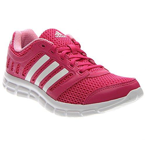 adidas Women's Breeze 101 2 W Running Shoe, Equipment Pink/White/Semi Pink Glow, 11 M US