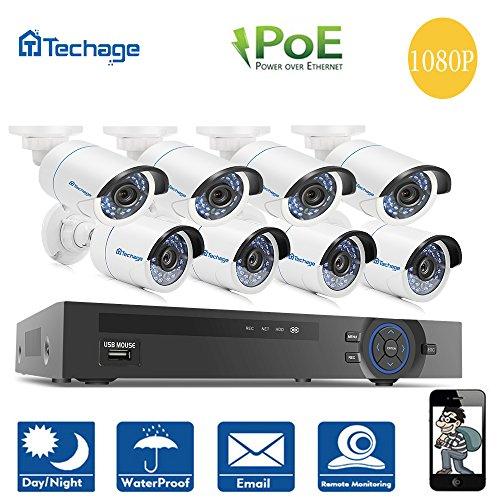 Techage Outdoor Waterproof Security Surveillance