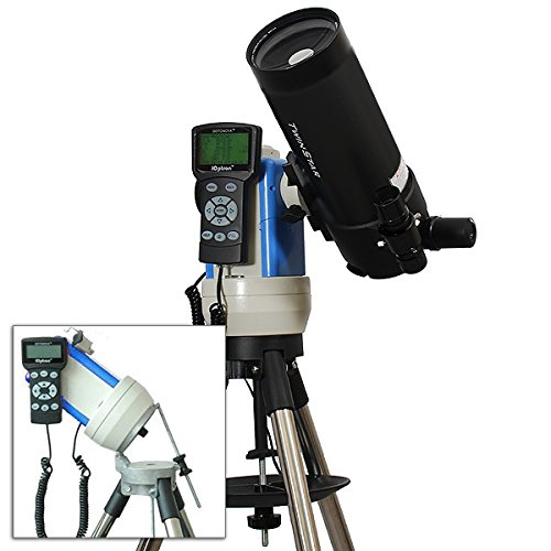 Black 90mm Portable GPS Computer Controlled Telescope with 14MP Digital USB Camera