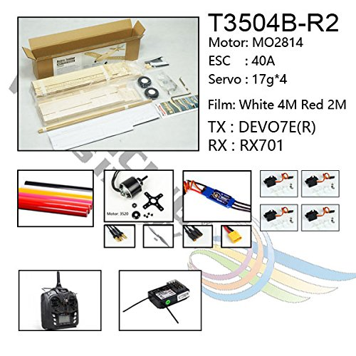 1380mm Laser Cut Balsa Wood Astro Junior Model Aircraft Kit Dancing
