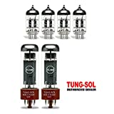 Tung-Sol Tube Upgrade Kit For Marshall JCM 2000 DSL 50 DSL 40C Amps EL34B/12AX7
