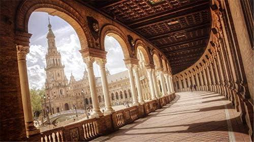 WACYDSD Pintar por números Plaza de españa Sevilla Pintura al óleo ...