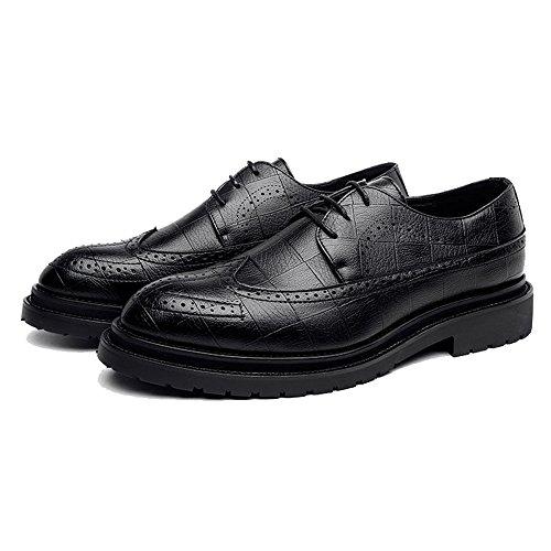 De Negro Papel Zapatos Hombre Para Cordones oxford Shoes Scsy F8tvTqn