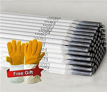 Stick Welding Electrode Mild Steel Rod w//Free Gloves WeldingCity 10-Lb E6013 1//8 3.2mm