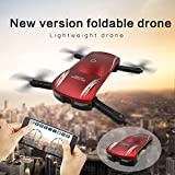 YJYdada Quadcopter with Camera - X185 Altitude Hold HD Camera Selfie Foldable WIFI FPV RC Pocket Drone