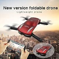YJYdada Quadcopter with Camera - X185 Altitude Hold HD Camera Selfie Foldable WIFI FPV RC Pocket Drone