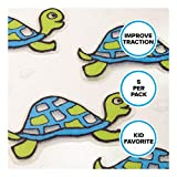 Turtle Tub Tattoos: 5 Green Decals, Treads, Appliques for Bathtubs