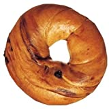Burry Foodservice Thaw and Sell Sliced Cinnamon Raisin Bagel, 4 Ounce - 36 per case.