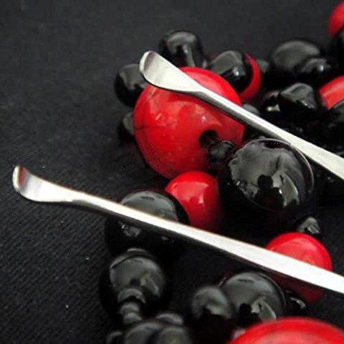 SODIAL 3 X 8 cm Ear Health Earpick Wax Removal Cleaner Ear C