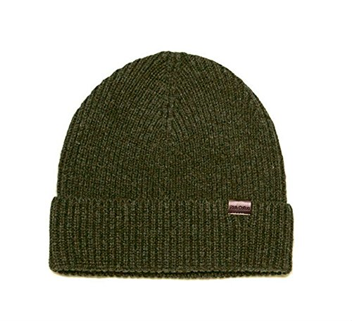 Rich Cotton Beanie Merino (Olive)