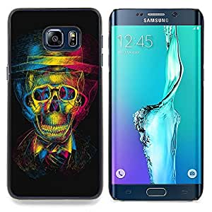 - Design 3D Skull/ Hard Snap On Cell Phone Case Cover - Cao - For Samsung Galaxy S6 Edge Plus